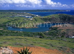 ANTIGUA, Mamora Bay, view from Shirley Heights, ANT682JPL