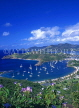 ANTIGUA, Nelson's Dockyard and English Harbour, view from Shirley Heights, ANT620JPL