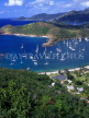ANTIGUA, Nelson's Dockyard and English Harbour, view from Shirley Heights, ANT626JPL