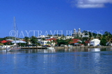 ANTIGUA, St John's, view from sea, ANT786JPL