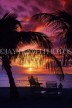 ANTIGUA, sunset and sea view, coconut trees in silhouette, ANT1321JPL
