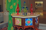 BAHRAIN, Manama, Hoora, Bahrain National Museum, furniture and glassware, BHR990JPL