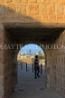 BAHRAIN, Manama, Karababad, Bahrain Fort (Qal'at al Bahrain), view through arch, BHR662JPL