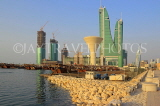 BAHRAIN, Manama, King Faisal Corniche, Financial Harbour Towers, BHR737JPL