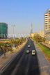 BAHRAIN, Manama, King Faisal Highway, view towards Bahrain World Trade Centre, BHR712JPL
