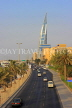 BAHRAIN, Manama, King Faisal Highway, view towards Bahrain World Trade Centre, BHR713JPL