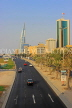 BAHRAIN, Manama, King Faisal Highway, view towards Bahrain World Trade Centre, BHR714JPL