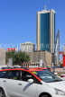 BAHRAIN, Manama, National Bank building, and taxi, BHR1214JPL