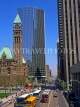 CANADA, Ontario, TORONTO, Downtown, Queen Street, Old City Hall (left), TOR142JPL