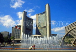 CANADA, Ontario, TORONTO, Nathan Philip Square and New City Hall, CAN679JPL