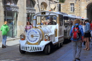 FRANCE, Brittany, SAINT-MALO, Old Town, Le Petit Train, for sightseeing, FRA2661JPL