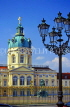 GERMANY, Berlin, Charlottenburg Palace and stree lamp, GER209JPL