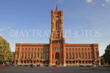 GERMANY, Berlin, Rotes Rathaus (Red City Hall), seat of city government, Alexanderplatz, GER1120JPL