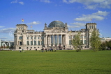GERMANY, Berlin, The Bundestag (Reichstag) parliament building, GER1119JPL