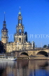 GERMANY, Dresden, Cathedral and River Elba, GER1011JPL