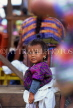 GUATEMALA, Antigua, Indian child in market, GUA284JPL