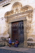 GUATEMALA, Antigua, colonial architecture, doorway, GUA109JPL