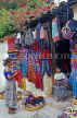 GUATEMALA, Antigua, street vendors selling traditional Indian goods, GUA320JPL