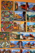 GUATEMALA, Guatemala City, paintings for sale, shopping, GUA264JPL