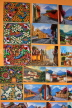 GUATEMALA, Guatemala City, paintings for sale, shopping, GUA265JPL