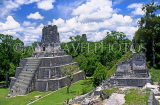 GUATEMALA, Mayan sites, TIKAL, Grand Plaza, Temple 1 (Temple of Masks), GUA245JPL