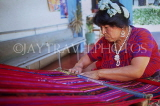 GUATEMALA, woman weaving, traditional hand weaving, GUA15JPL