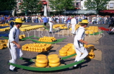 HOLLAND, Alkmaar, Cheese Market, HOL013JPL