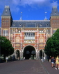 HOLLAND, Amsterdam, Rijksmuseum, south side view, HOL508JPL