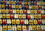 HOLLAND, Amsterdam, shop display of wooden Clogs
