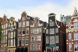 HOLLAND, Amsterdam, typical Dutch architecture, buildings, HOL837JPL