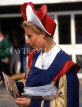 HOLLAND, Dutch woman in traditional costume, HOL650JPL
