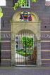 HOLLAND, Edam, old house gateway, HOL826JPL