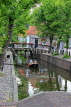 HOLLAND, Edam, old town and canal scene, HOL811JPL