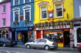 IRELAND, County Cork, Skibbereen, shop fronts and painted buildings, IRE509JPL