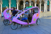 ITALY, Lombardy, MILAN, Veloleo, electric rickshaws for city touring, ITL2068JPL