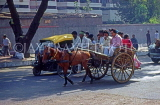 India, DELHI, three wheel and horse drawn taxis, IND1263JPL