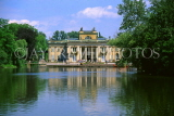 POLAND, Warsaw, Lazienki Park, Belvedere Palace (Palace on the Water), POL150JPL