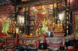 SINGAPORE, Little India, Leong San See Temple, interior, SIN653JPL