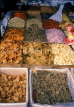 SINGAPORE, Little India, Spice shop with various dried yams, SIN118JPL