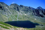 SLOVAKIA, Tatra Mountains, High Tatra Nat Park, Big Hincovo Lake (Velka Hincovo Plesco), SLV45JPL