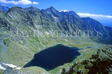 SLOVAKIA, Tatra Mountains, High Tatra Nat Park, Big Hincovo Lake (Velka Hincovo Plesco), SLV47JPL