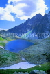 SLOVAKIA, Tatra Mountains, High Tatra Nat Park, Small Hincovo Lake (Male Hincovo Plesco), SLV48JPL