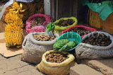 SRI LANKA, Pussellawa, town centre, Arica Nuts (Betel Nuts for sale, and bananas, SLK4189JPL