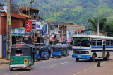 SRI LANKA, Pussellawa, town centre, buses and taxis, SLK4184JPL
