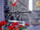SWITZERLAND, Bern Canton, BERN, fountain (typical in the Old Town), SW860JPL