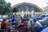 THAILAND, Bangkok, traffic and main railway station (in background), THA1048JPL