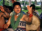 TONGA, cultural dancer performing during traditional Kava ceremony, TON2379JPL