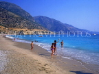TURKEY, Fethiye area, Beach and holidaymakers, TUR733JPL