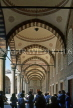 TURKEY, Istanbul, Blue Mosque (Sultan Ahmet Mosque) courtyard, TUR621JPL