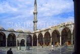 TURKEY, Istanbul, Sultan Ahmet Mosque (Blue Mosque), courtyard, TUR425JPL